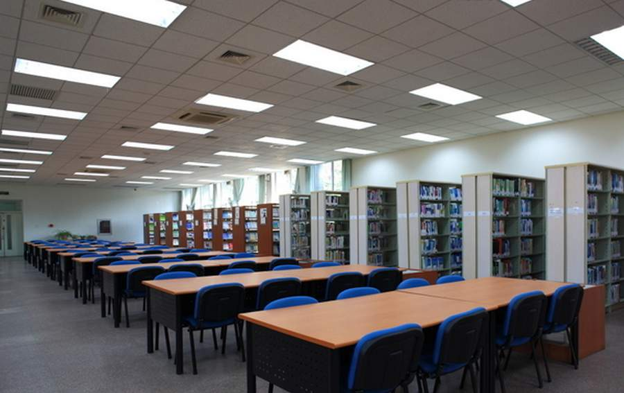 led panel lighting school library led flat panel light