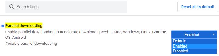 Chrome 浏览器开启多线程下载