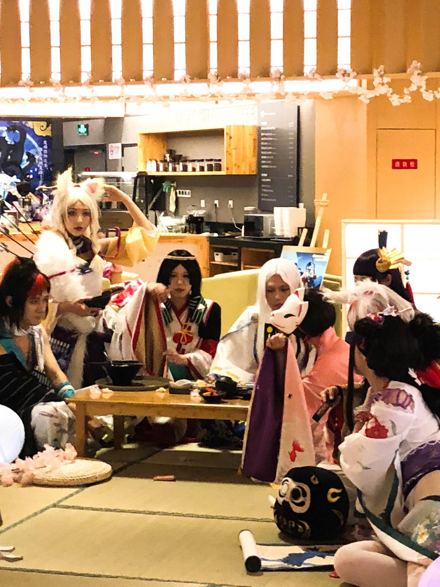 现世妖约阴阳师和风温泉物语-线下体验 游玩 第27张