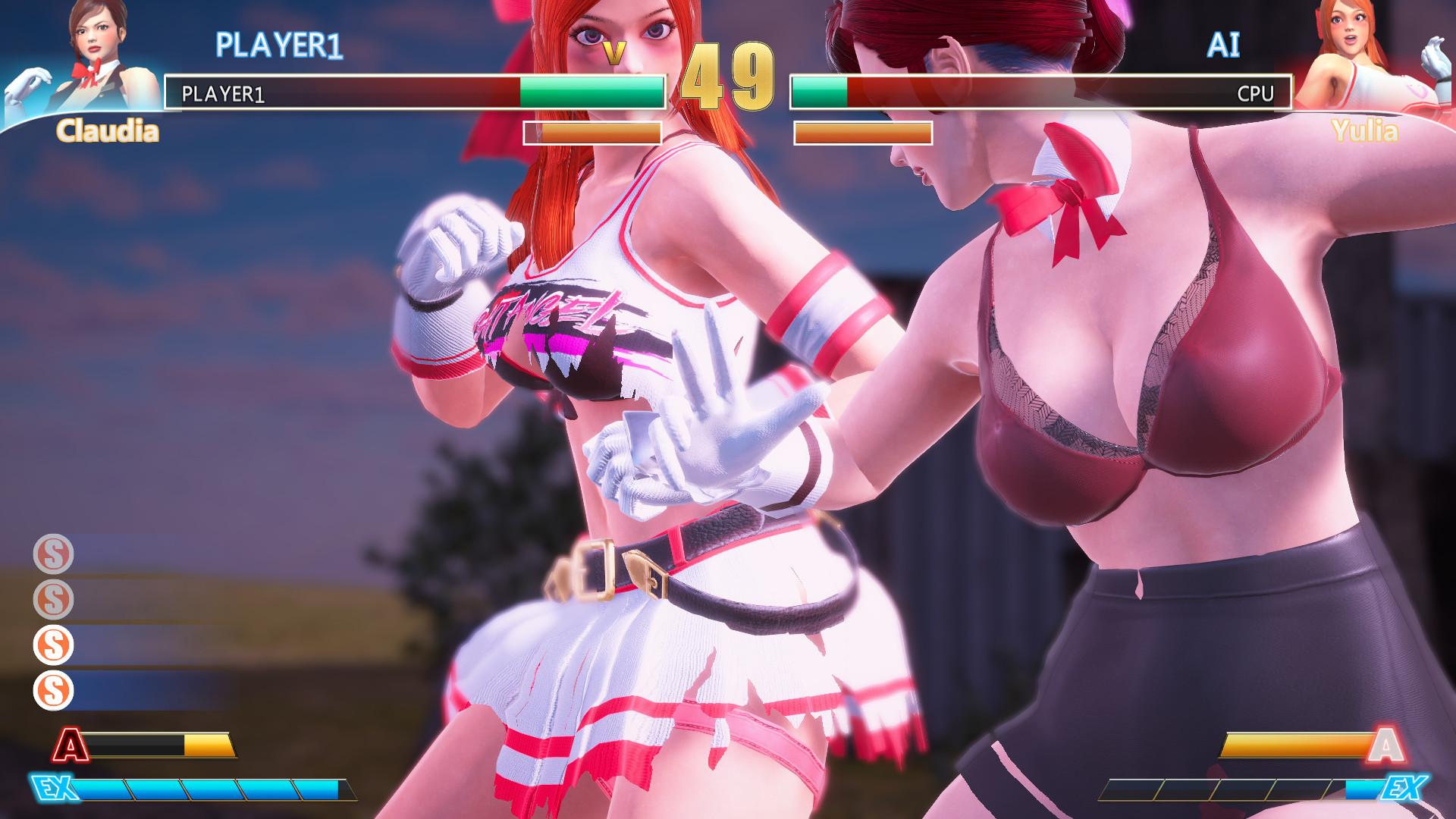 格斗天使 FightAngel 0.9 中文版――小姐姐衣服会爆炸哦!