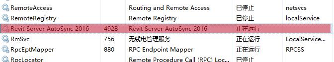 Revit Server AutoSync 201X
