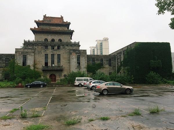 旧上海特别市图书馆(现废弃)