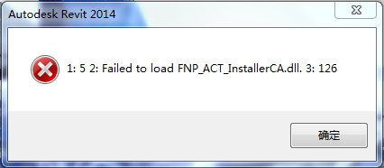 1:5 2:Failed to load FNP_ACT_InstallerCA.dll. 3:126