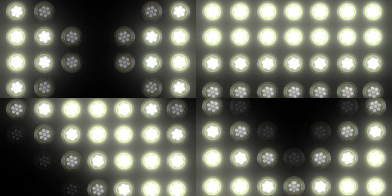 舞台LED聚光灯效视频素材[15款]