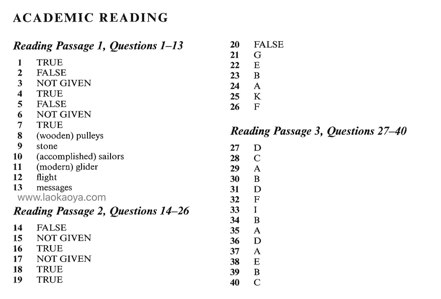 剑7雅思阅读答案4