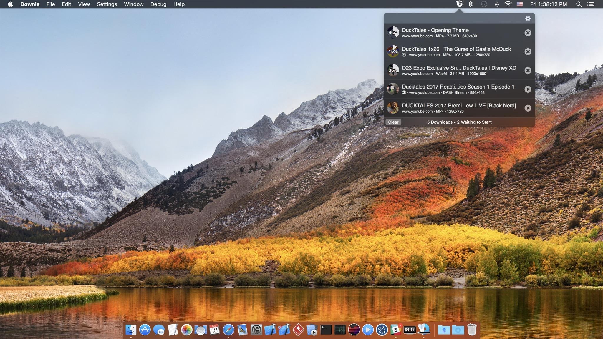 Downie 4.0.10 (4101) Mac 上网页视频下载工具(支持B站优酷土豆)-马克喵