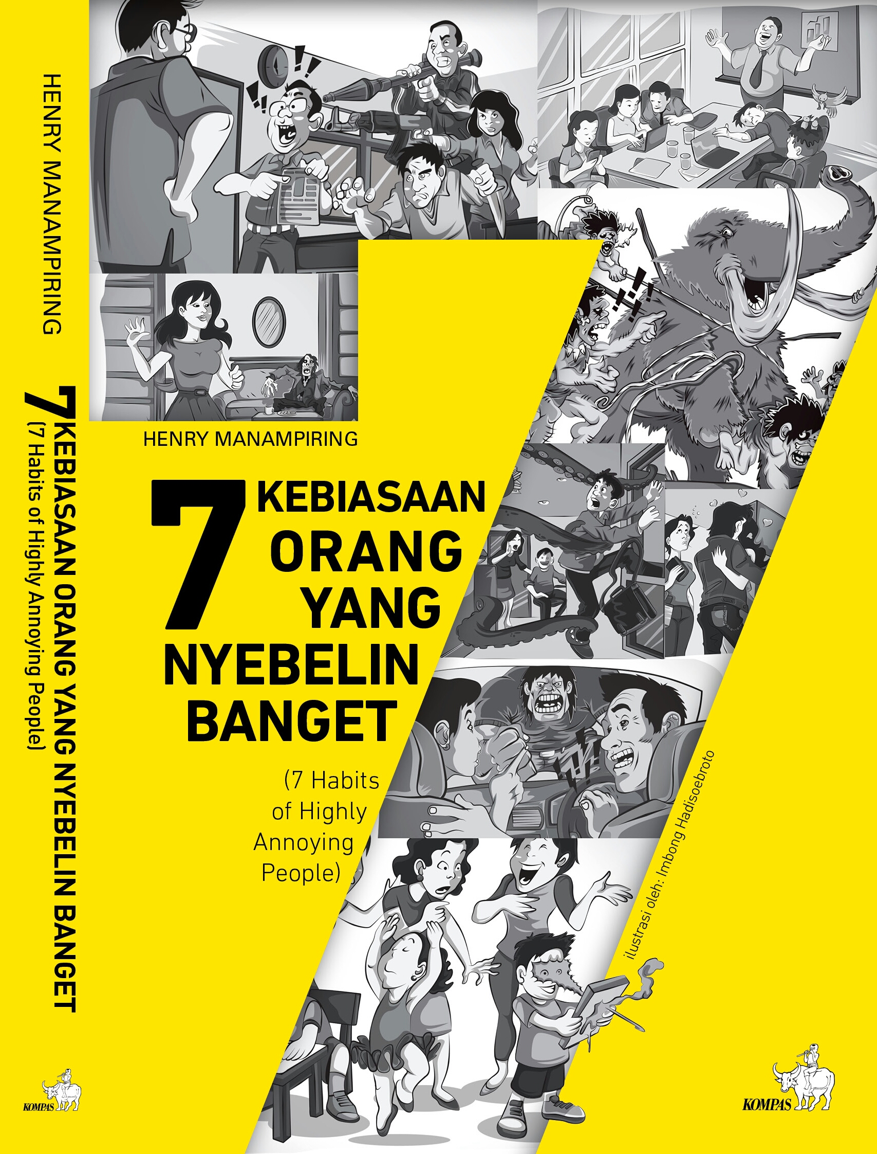 Resensi Buku 7 Kebiasaan Orang Yang Nyeblin Banget (7 Habits of Highly Annoying People)