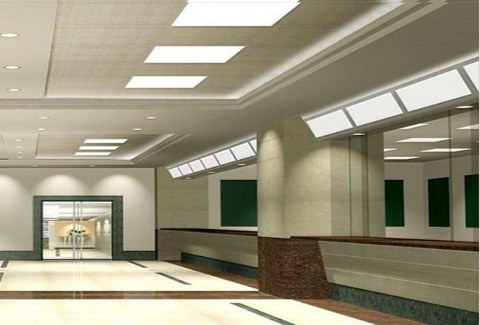 PANEL LED CASE: hall of led panel light