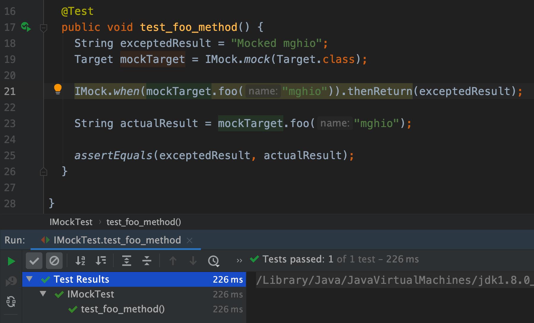 mockito_imock_test_pass.png