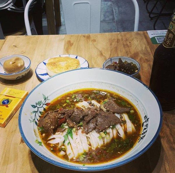 在北京吃到的常德牛肉粉