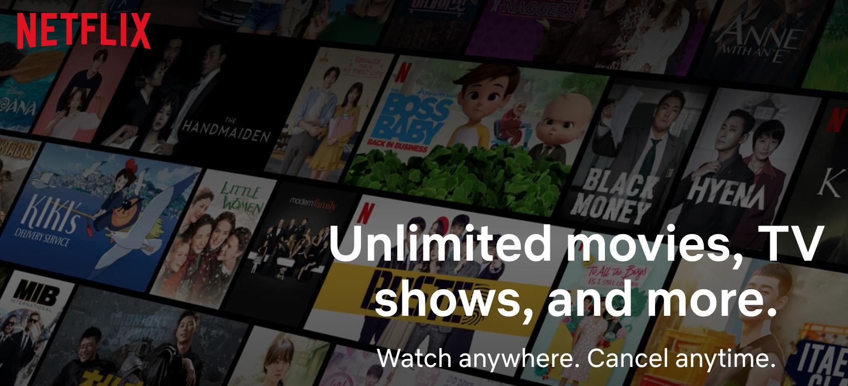 专用港台流媒体节点可看Netflix(网飞/奈飞)