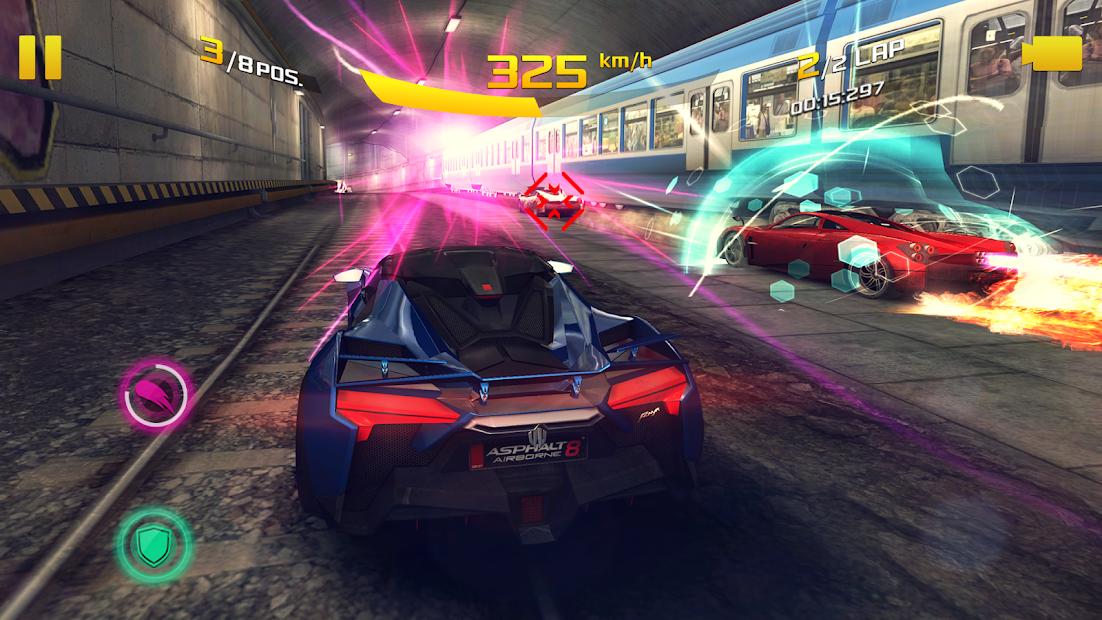 图片是来自由 Gameloft 开发的 Asphalt 8