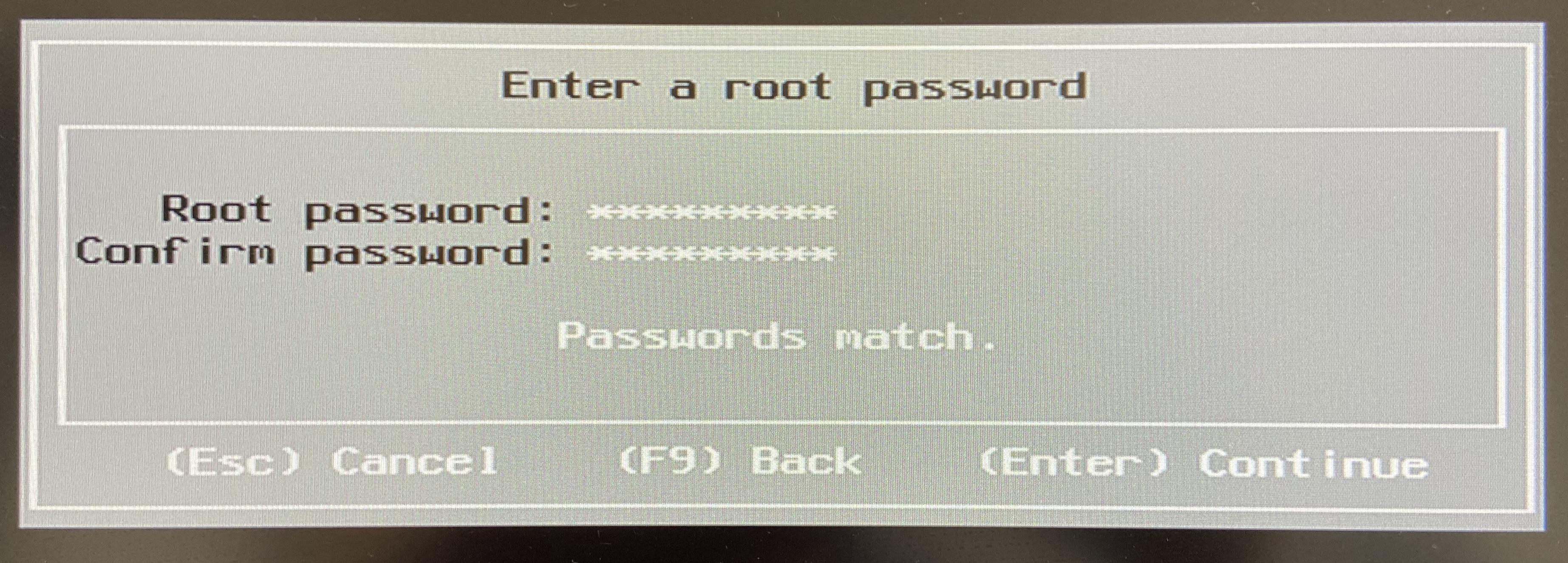 设置好密码