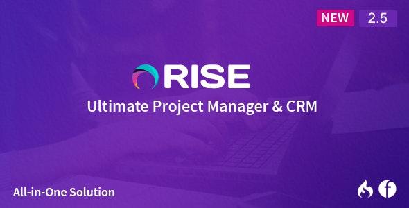 RISE v2.6.1 - PHP项目管理源码