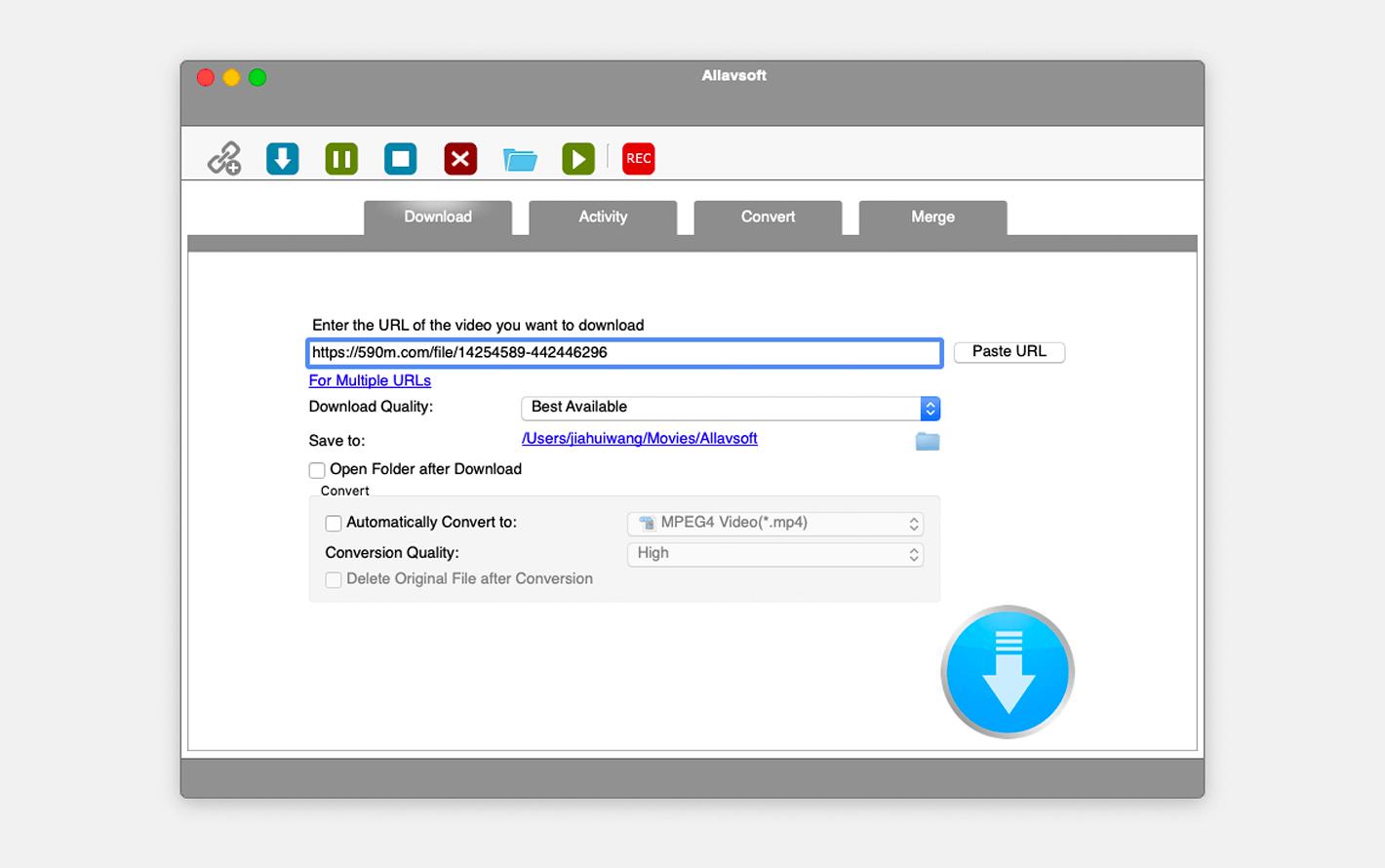 Allavsoft Video Downloader Converter