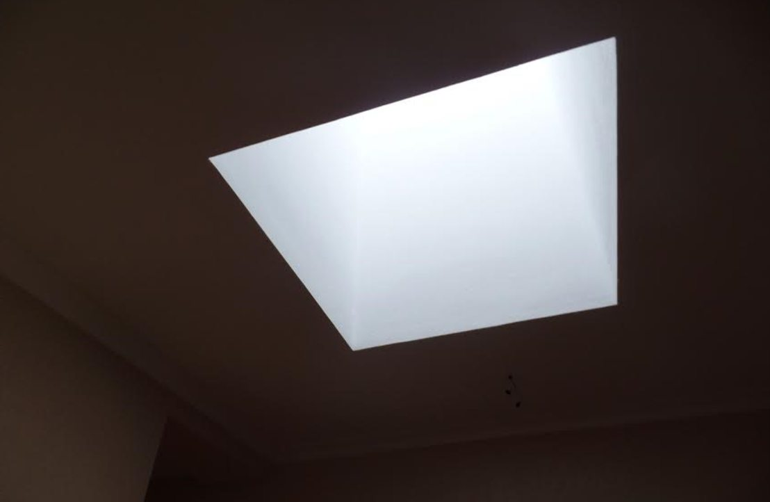 LED flat panel light dark area lighting