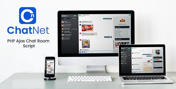 ChatNet v1.4 - PHP 在线聊天系统