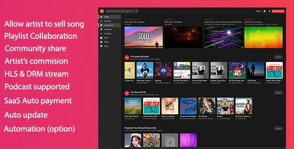 MusicEngine v2.0.8 - PHP音乐社交平台源码