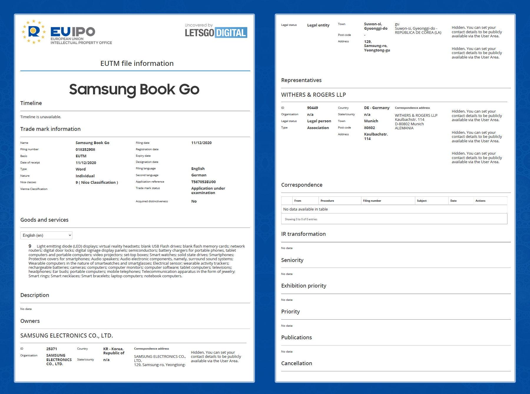 三星 Galaxy Book Go 新款笔记本或将在 CES 2021 上亮相
