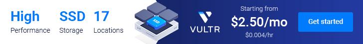 Vultr 推广链接