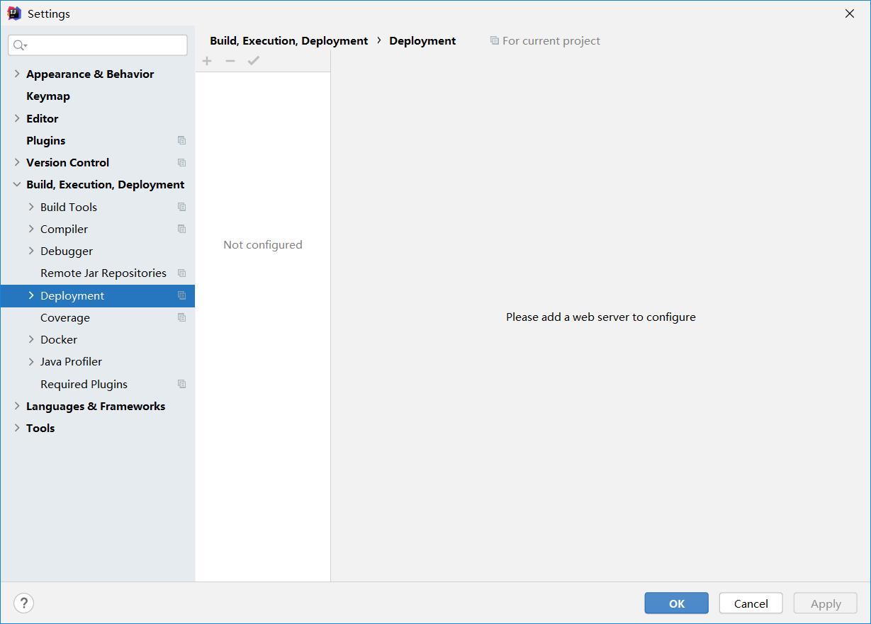 "Intelij IDEA配置Tomcat时找不到 ""Application Server""也找不到Tomcat Sever"