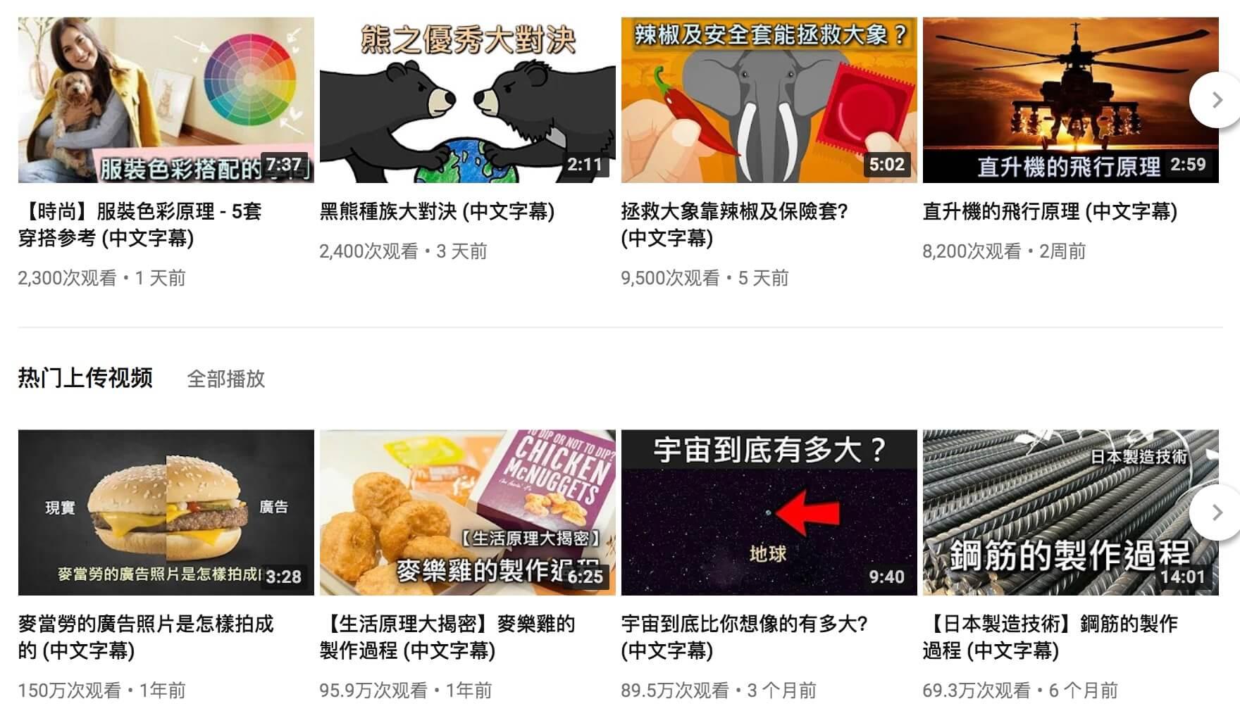 YouTube 頻道推薦及使用技巧