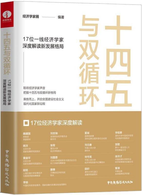 《十四五与双循环:17位一线经济学家深度解读 新发展格局》封面图片
