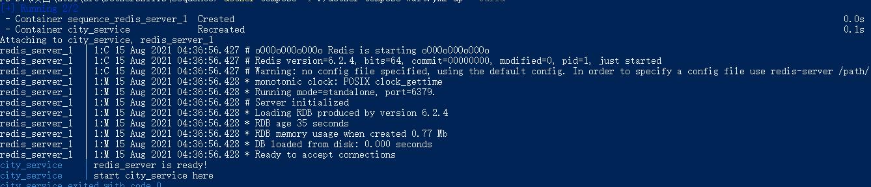 Docker Compose 启动顺序:检测 Redis