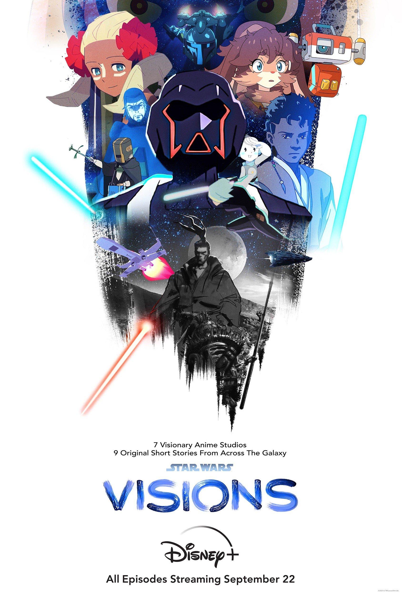 [LoliHouse] Star Wars: Visions [WebRip 1080p HEVC-10bit EAC3][简繁英日字幕]