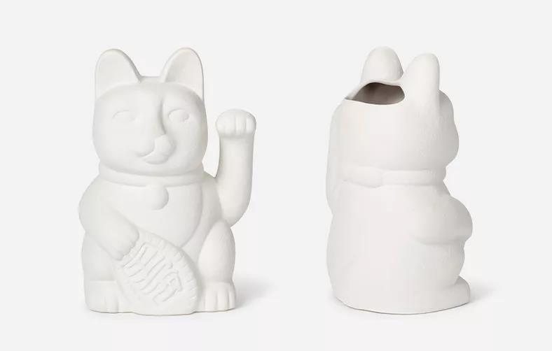 DOIY招财猫花瓶,送给朋友都喜欢!